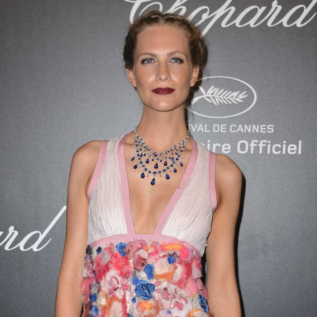 Guests at Chopard's annual grand soirée, one of the highest-profile events of the Cannes Film Festival, included model Poppy Delevingne, who wore a Chopard high jewellery necklace set with 100ct of sapphires and 44ct of white diamonds.