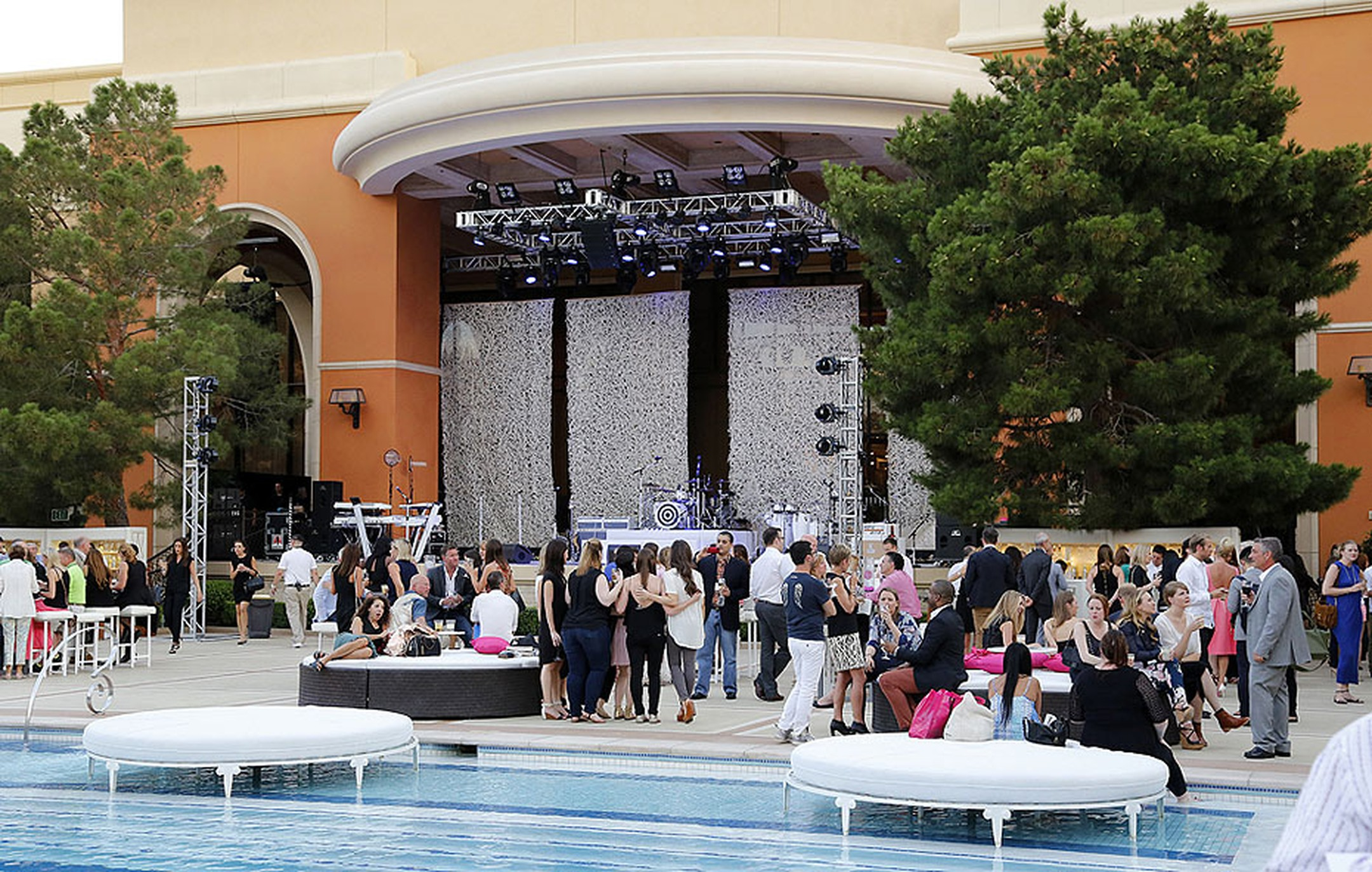 The Couture Show Las Vegas is America's most talked-about jewelry show, showcasing the most creative and original gems from around the world, and the most glamorous also, with a welcome pool party on the first night.
