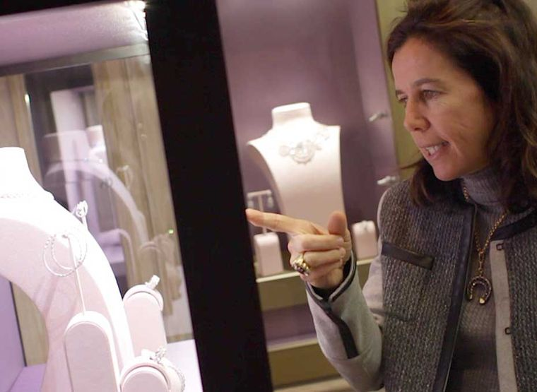 Luxury goods expert Christine Pasquier, co-founder of The Jewellery Editor.