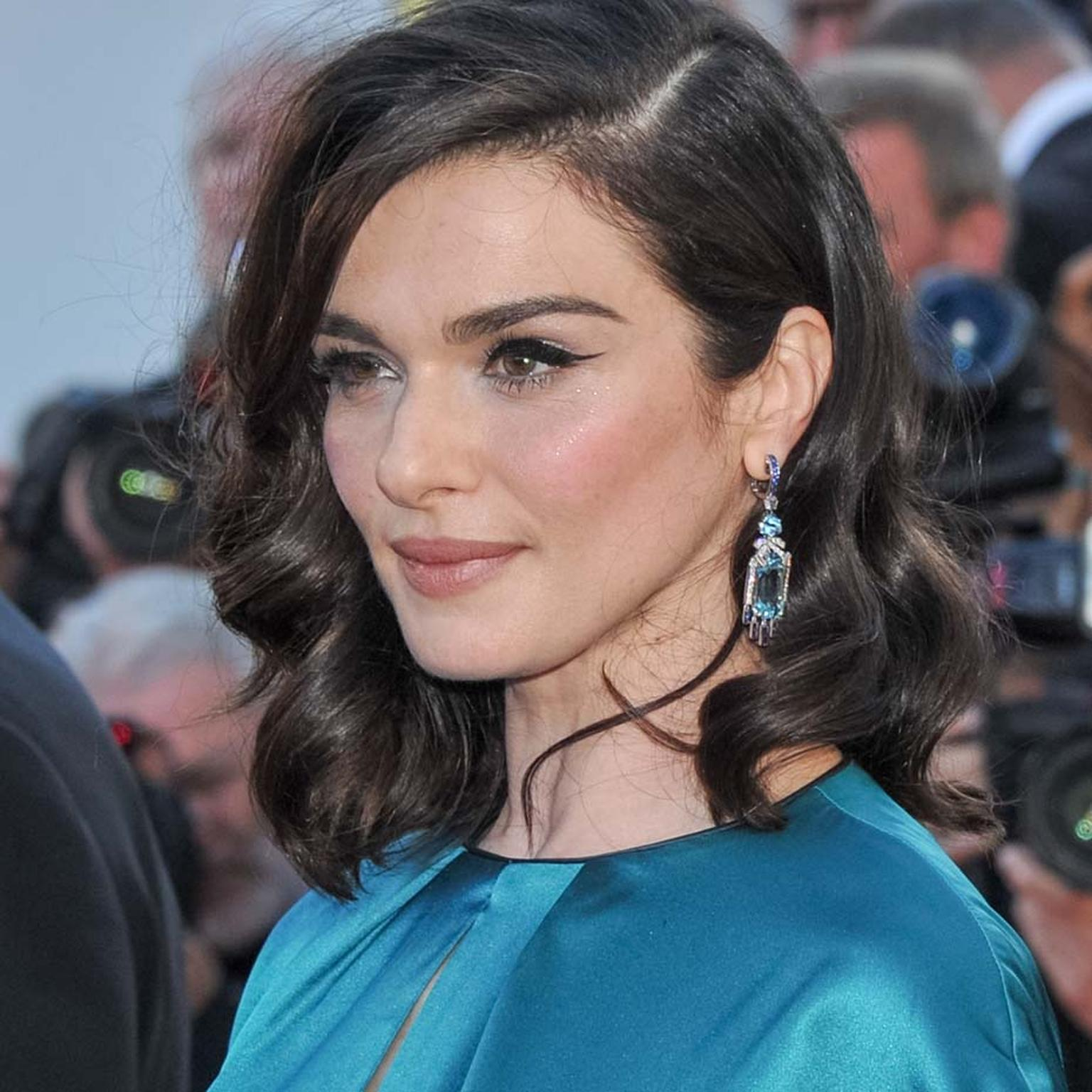 Rachel Weisz in Chaumet jewellery
