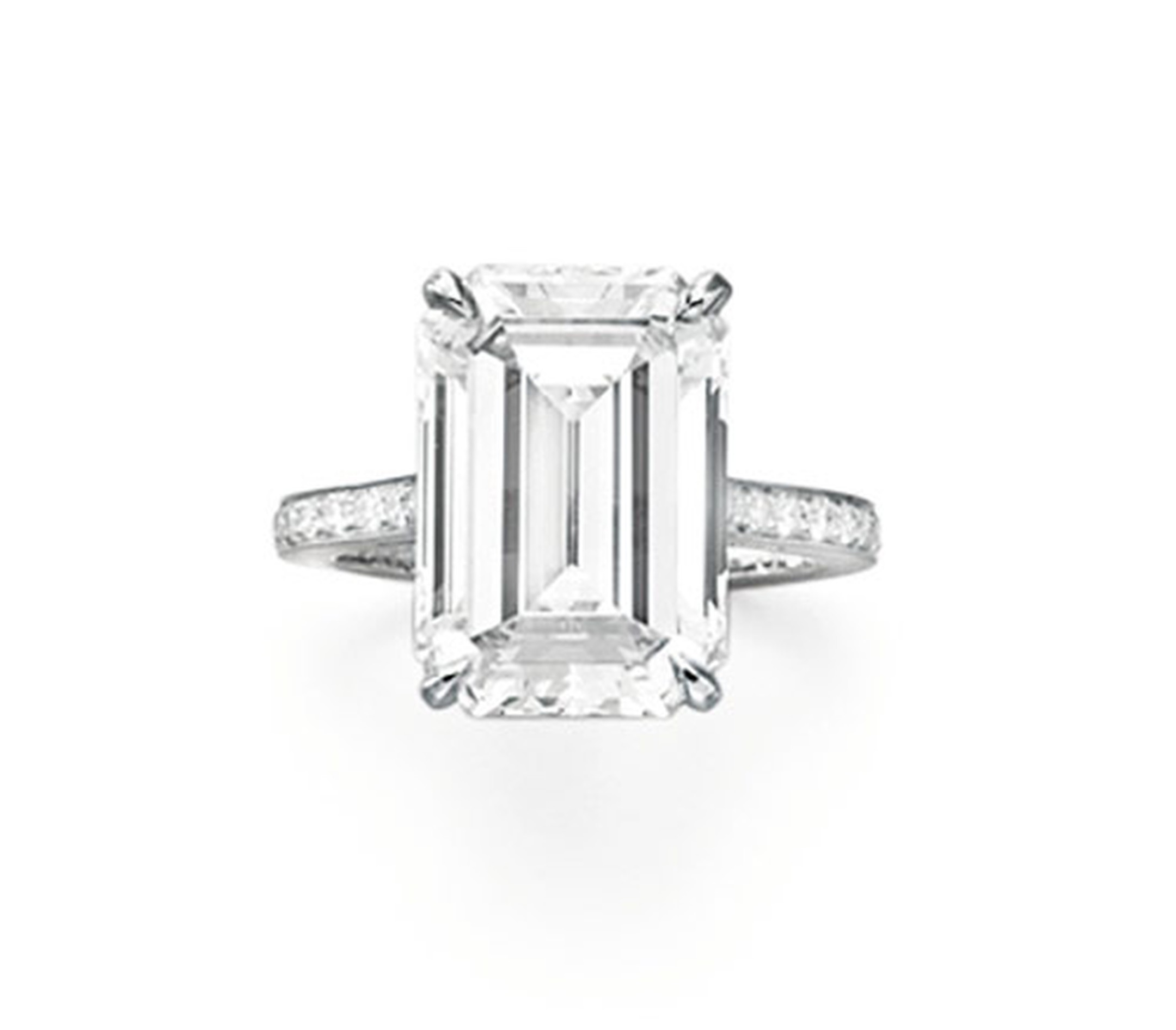 Christies-Rectangular-Cut-Diamond-Ring