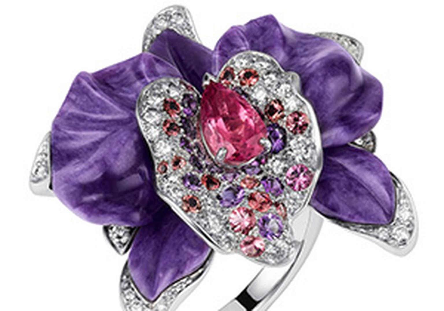 Cartier Naturallement Orchid ring HP