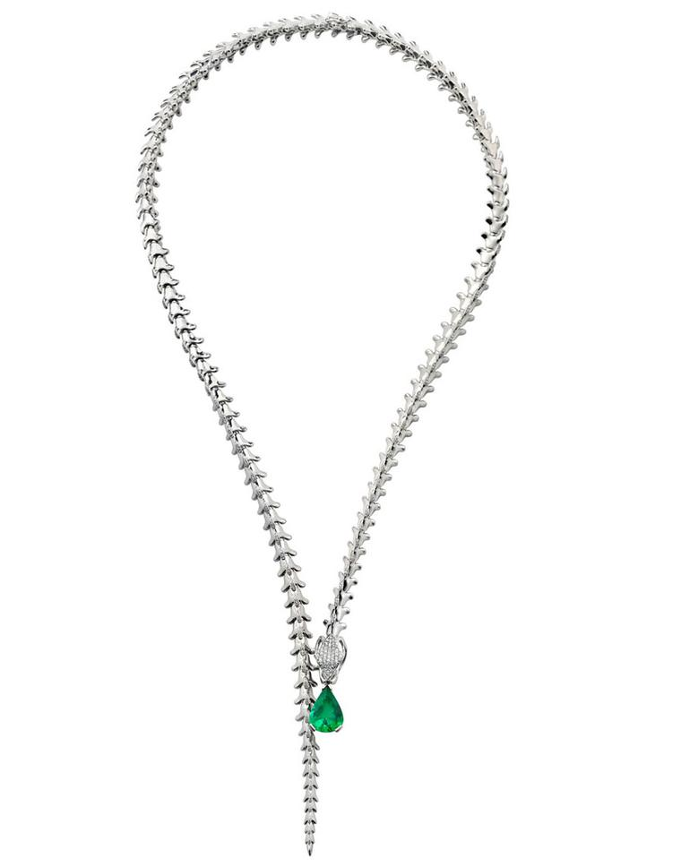 Shaun Leane for Gemfields Serpents Trace necklace.