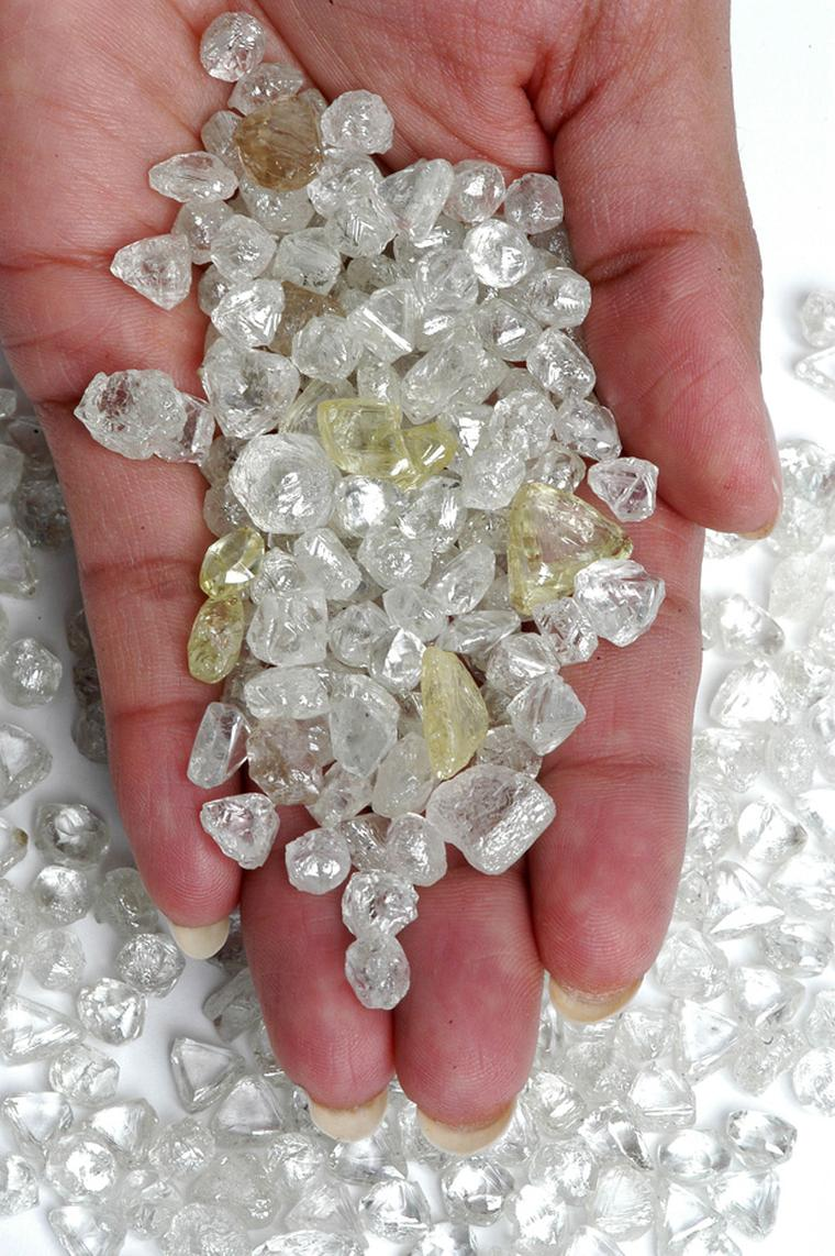 Diamond Trading Company rough diamonds