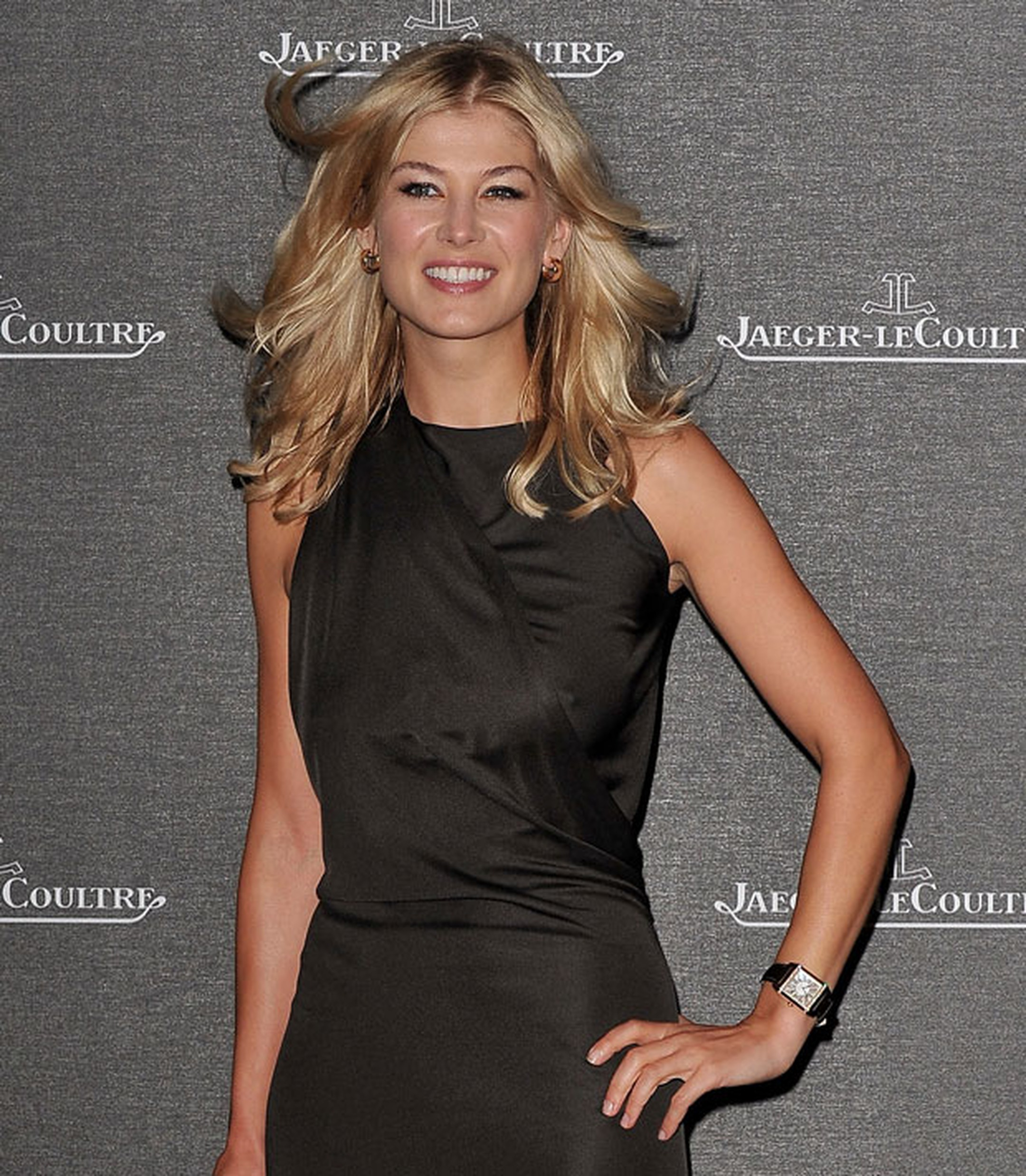 Rosamund Pike wears Jaeger-LeCoultre at Venice Film Festival