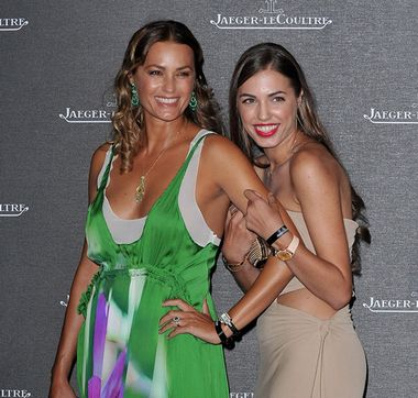 Yasmin and Amber LeBon chose Jaeger-LeCoultre watches at the Venice Film Festival