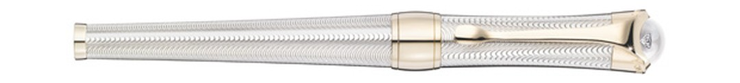 Montblanc Eternelle pen in silver with transparent lacquer