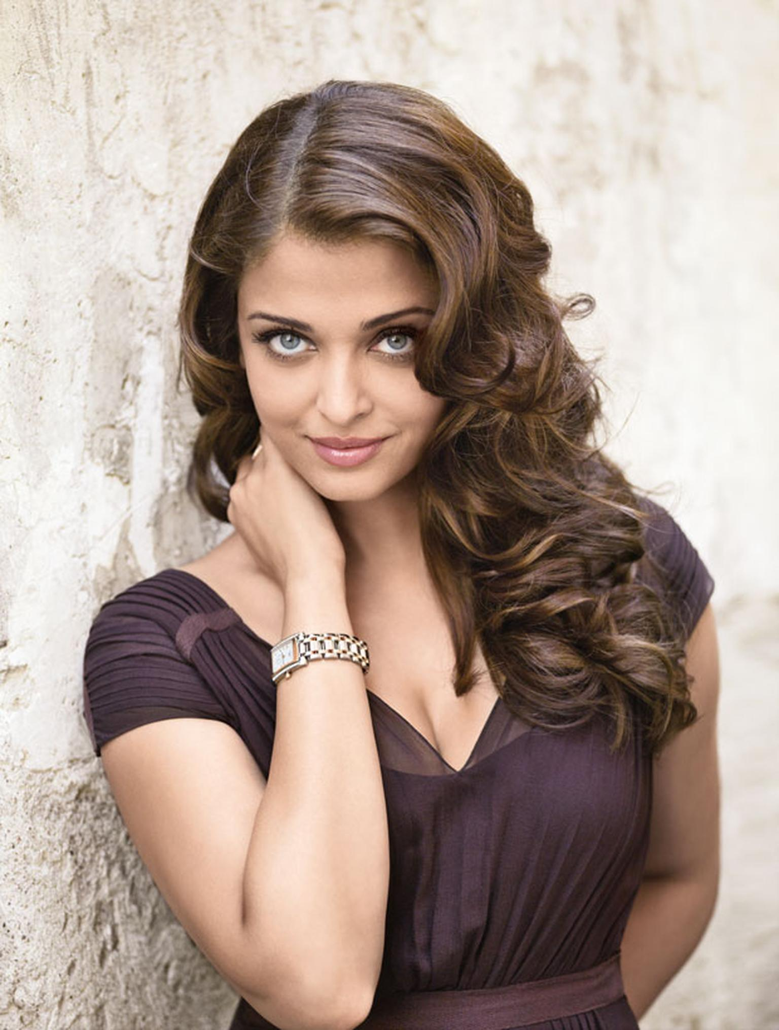 Bollywood star Aishwarya Rai Bachchan and her Longines