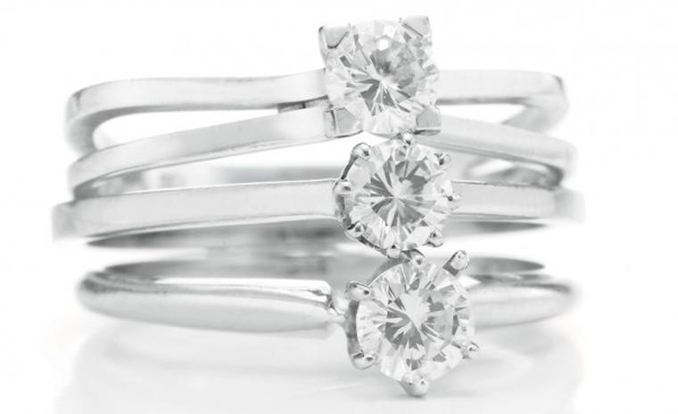 The Ping Pong diamond rings
