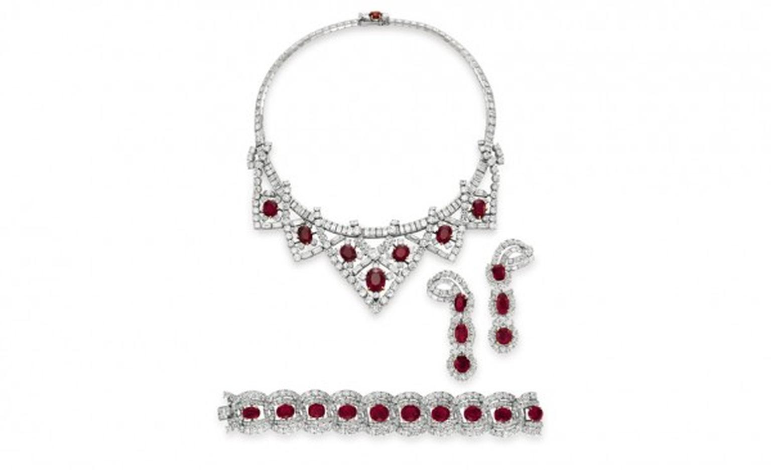 Cartier Ruby Suite