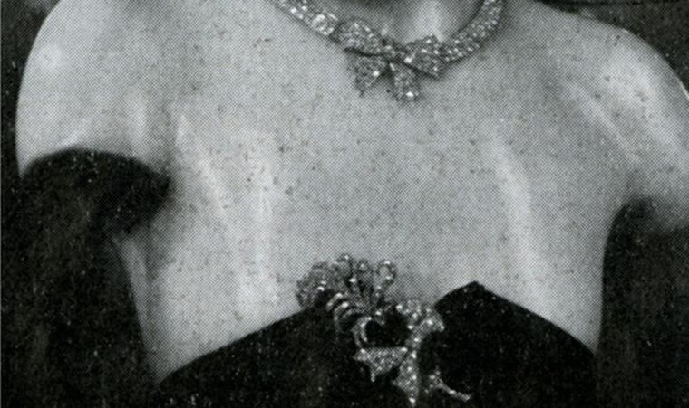 Wax model from Coco Chanel's 1932 Bijoux de Diamants exhibition