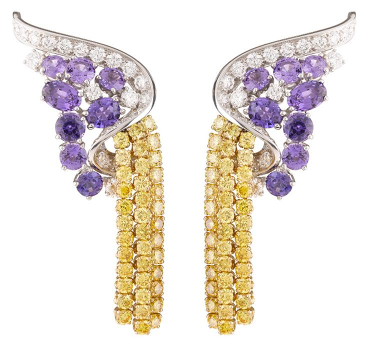 Van Cleef & Arpels Les Voyages Extraordinaires Stromboli Earrings