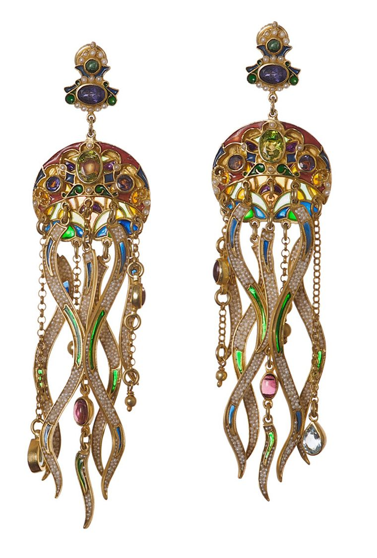 Diego Percossi Papi Meduse earrings from Talisman Gallery, London