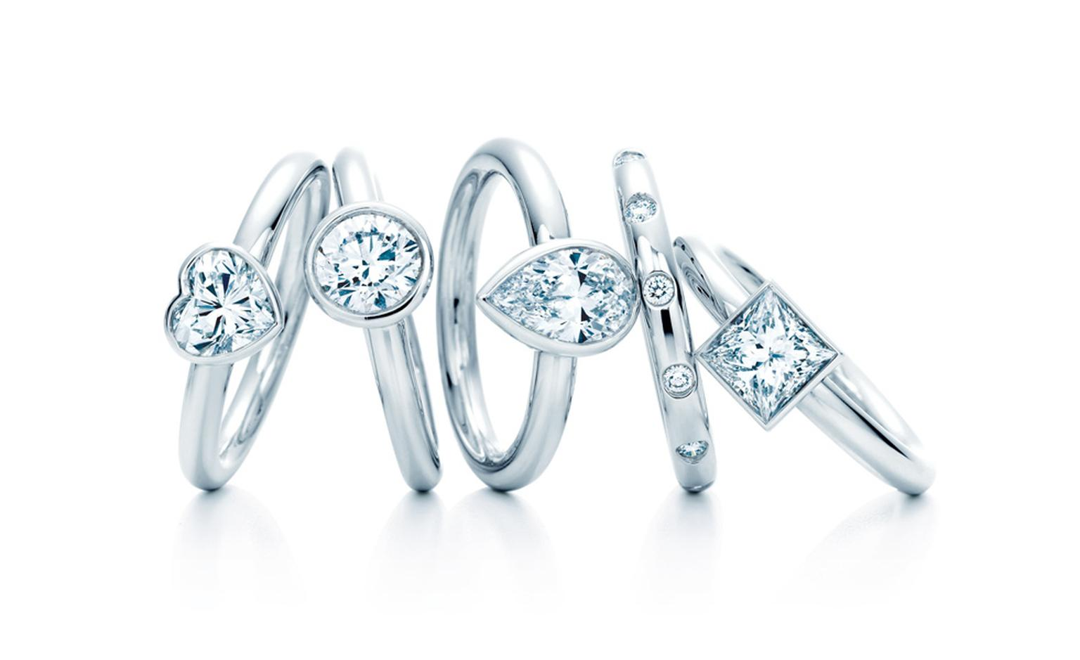 Tiffany Bezet engagement rings