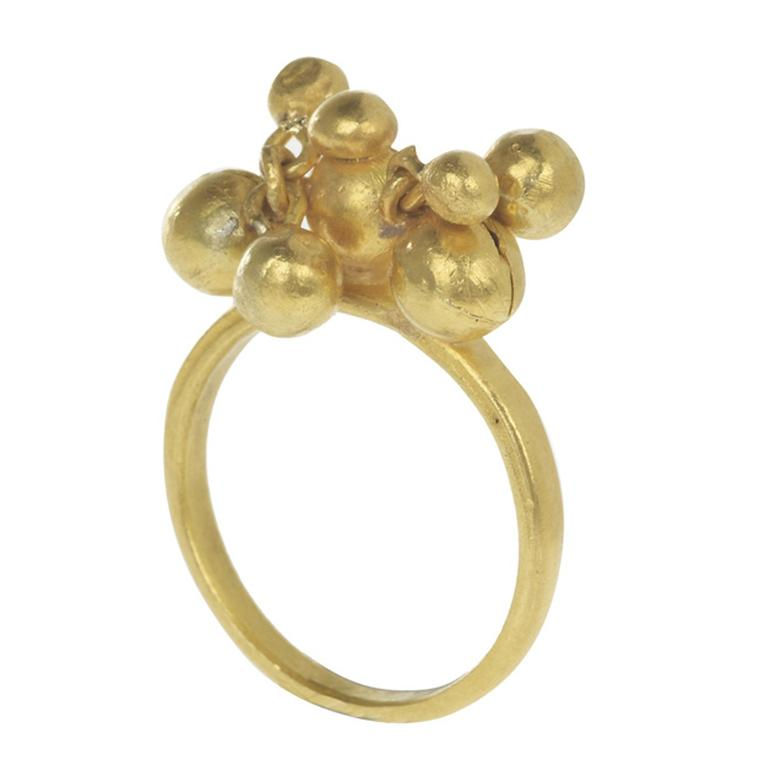 Pippa Small's  gold Bolivia ring from the first Fair Trade accredited mine