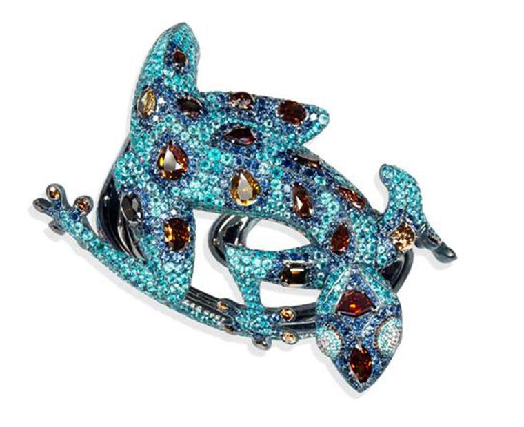 Chopard Animal World Gecko cuff