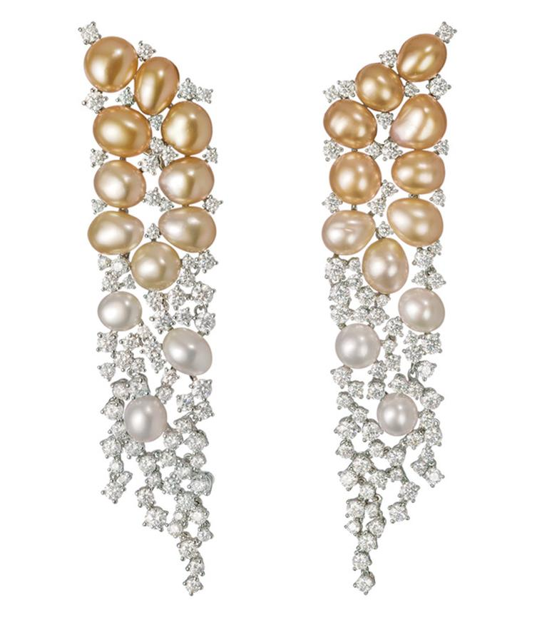 Mikimoto Aurora earrings