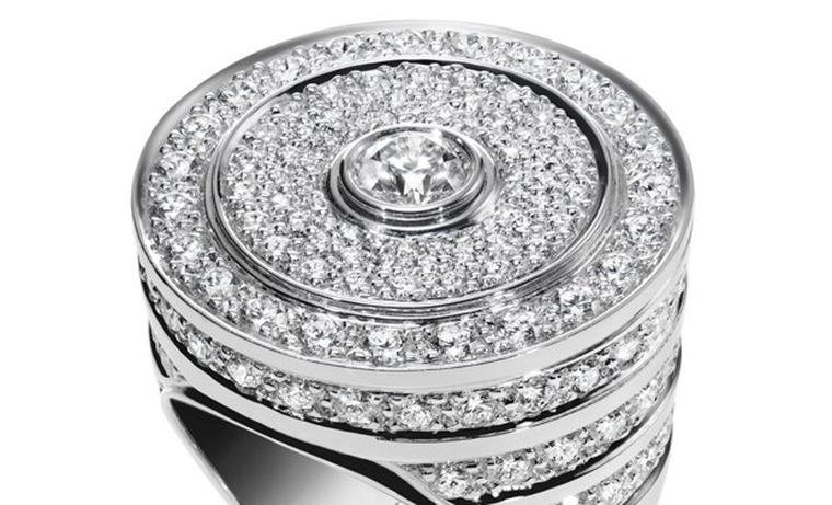 Harry Winston Guggenheim ring