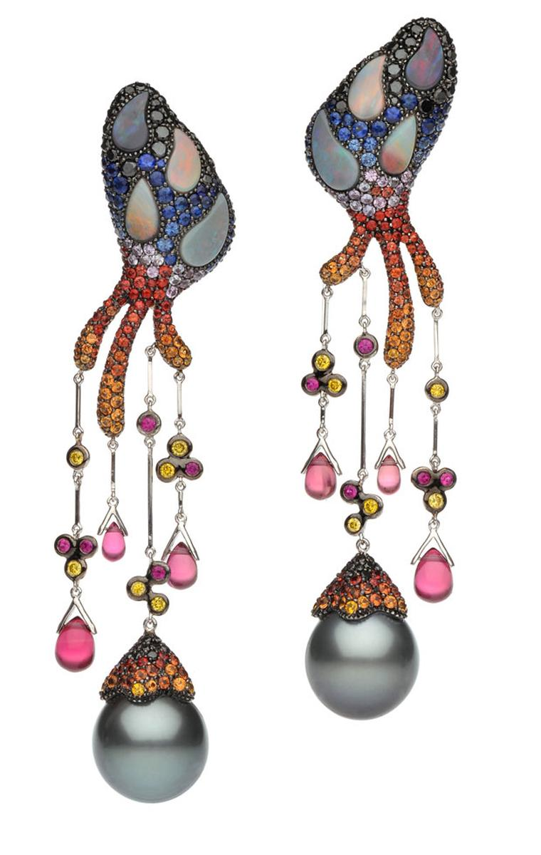 Autore Fire and Ice earrings