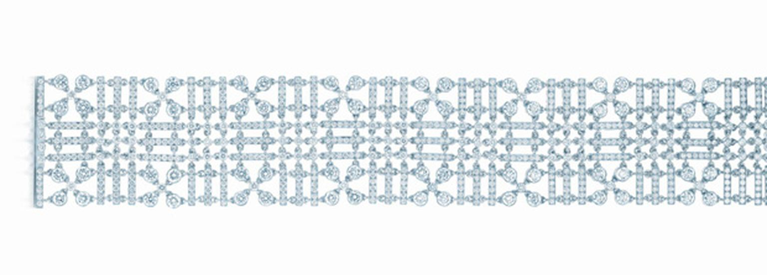 Tiffany & Co Lace diamond bracelet