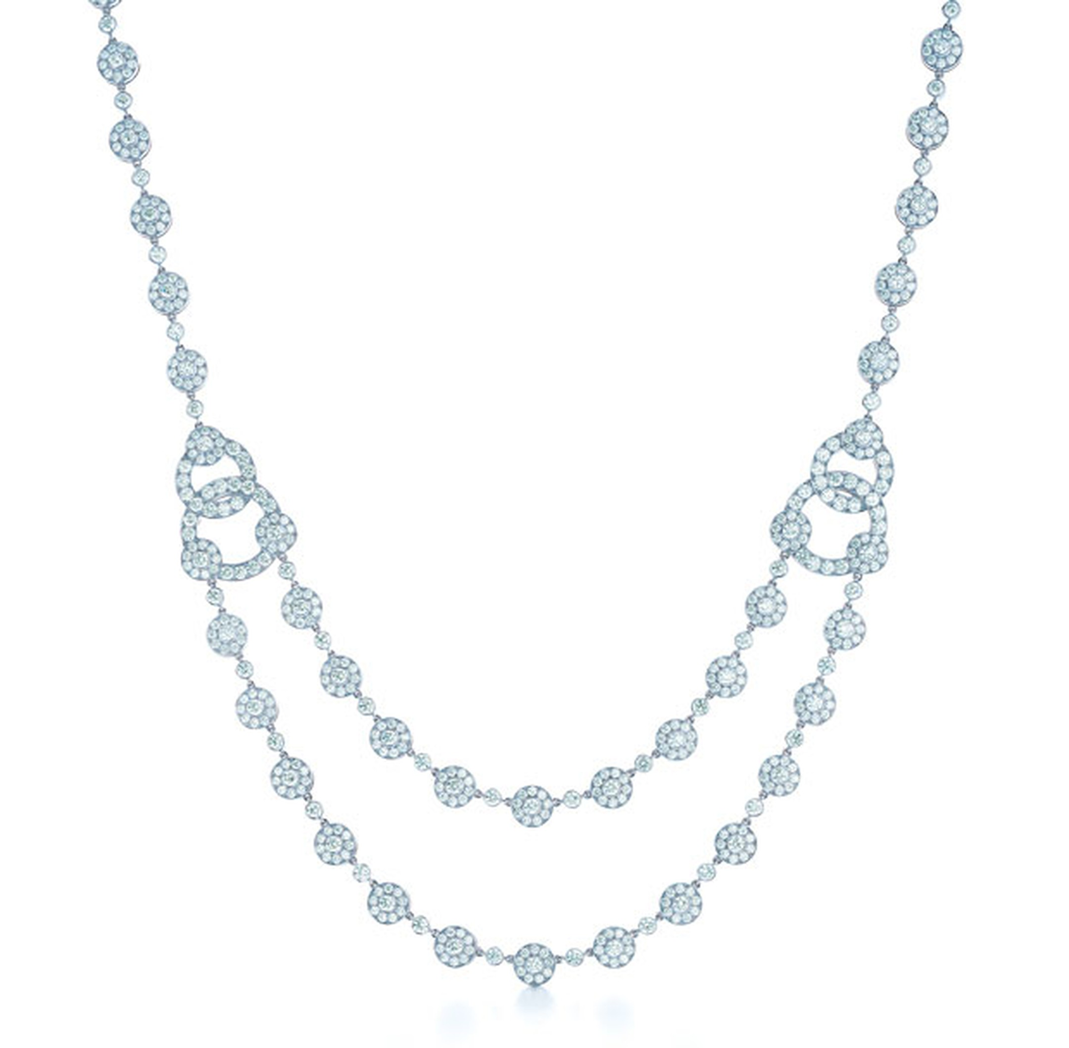 Tiffany & Co Circlet diamond necklace