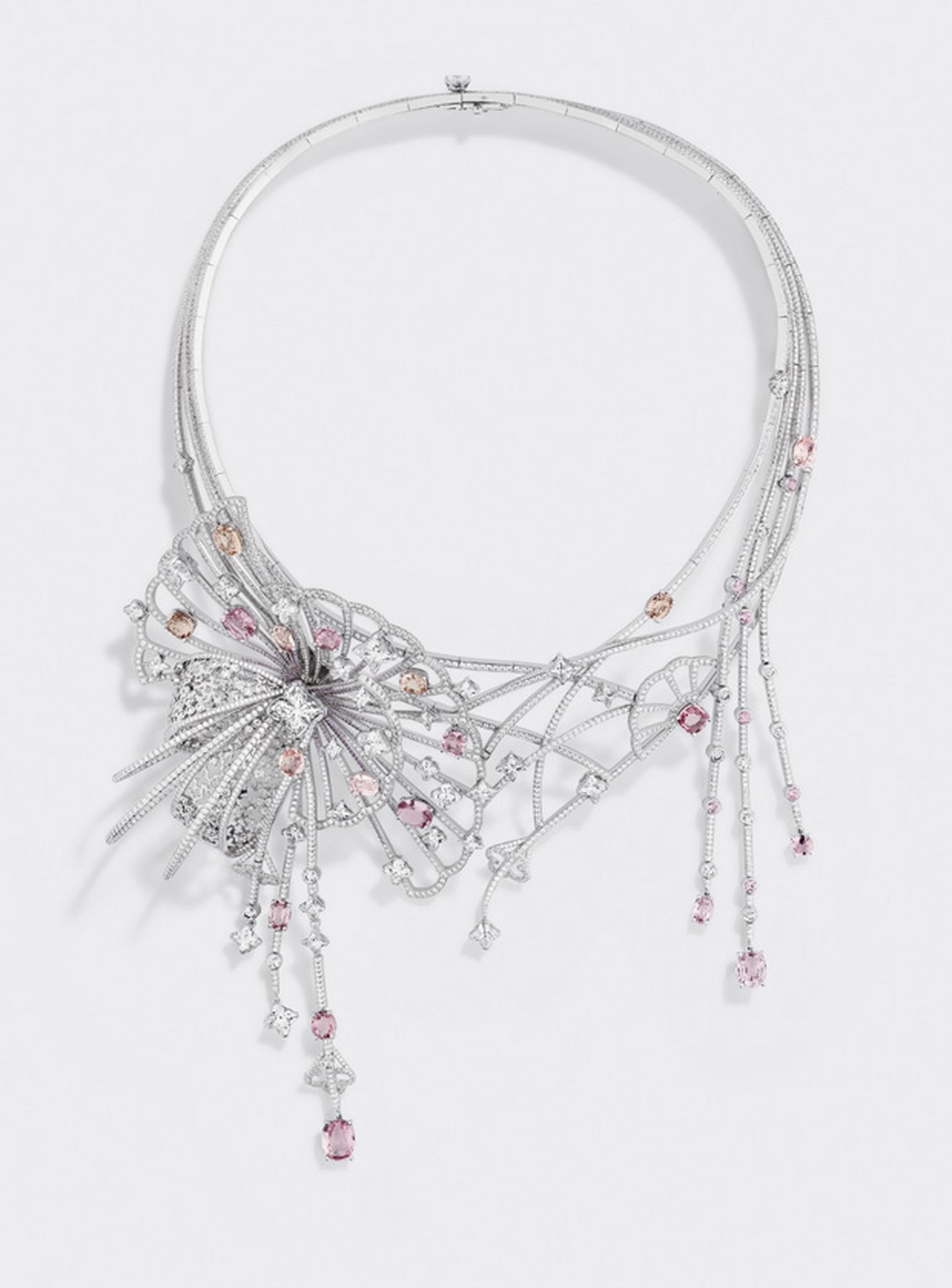 Louis Vuitton L'Ame du Voyage necklace 2 with diamonds