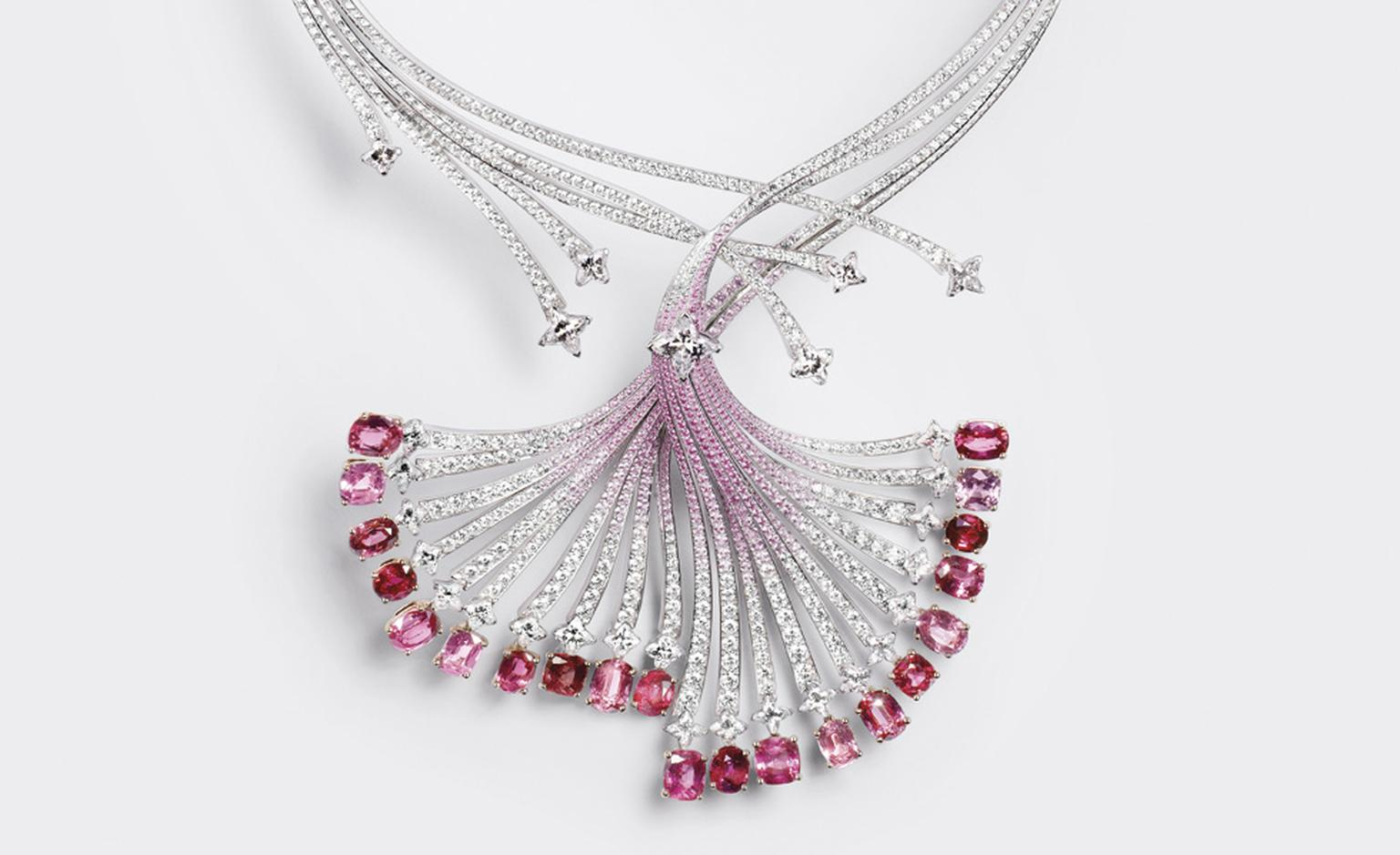 Louis Vuitton L'Ame du Voyage necklace 3 with diamonds and sapphires