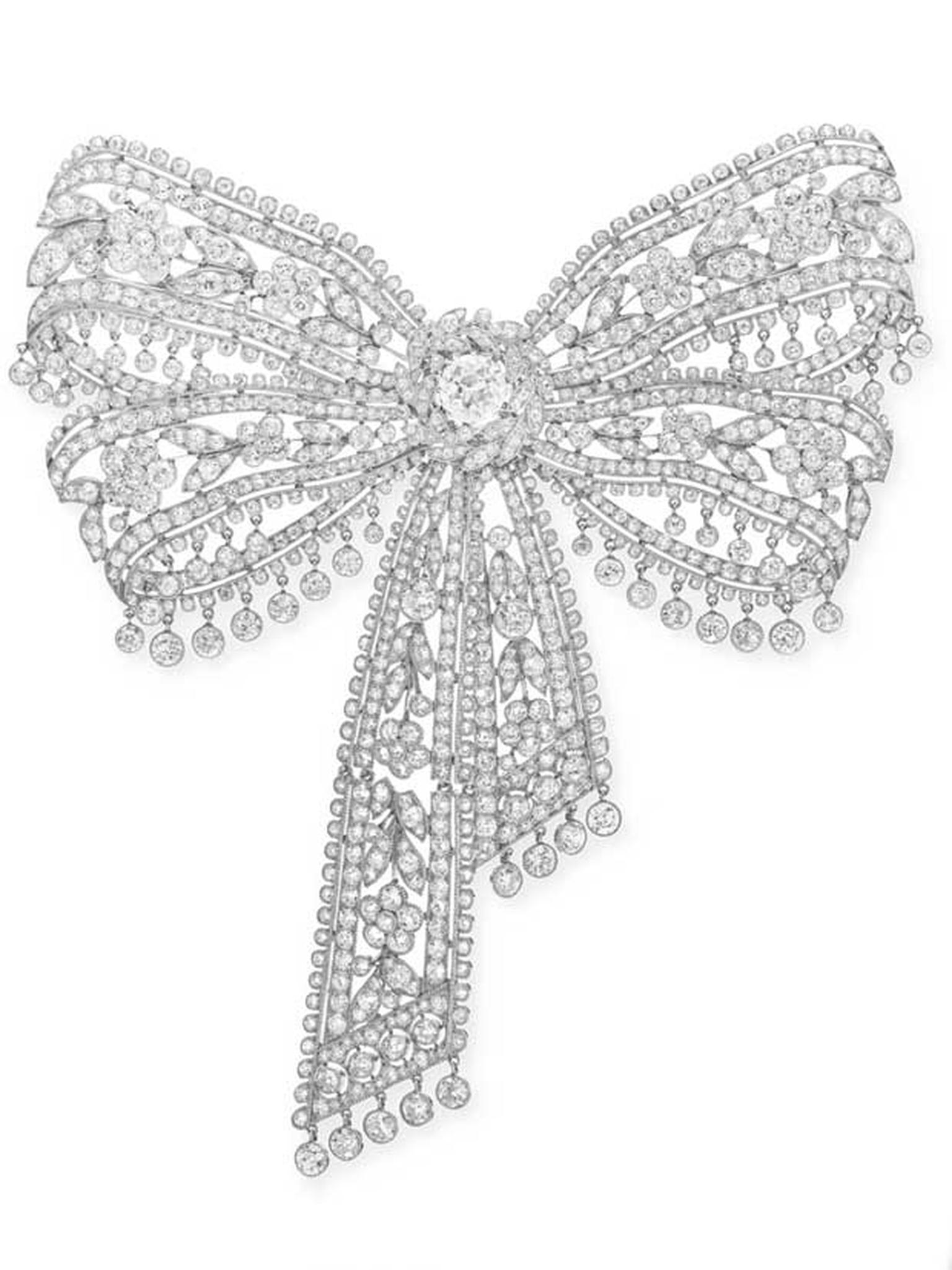 Belle Epoque Cartier diamond brooch Estimate $300,000 - $ 500,000