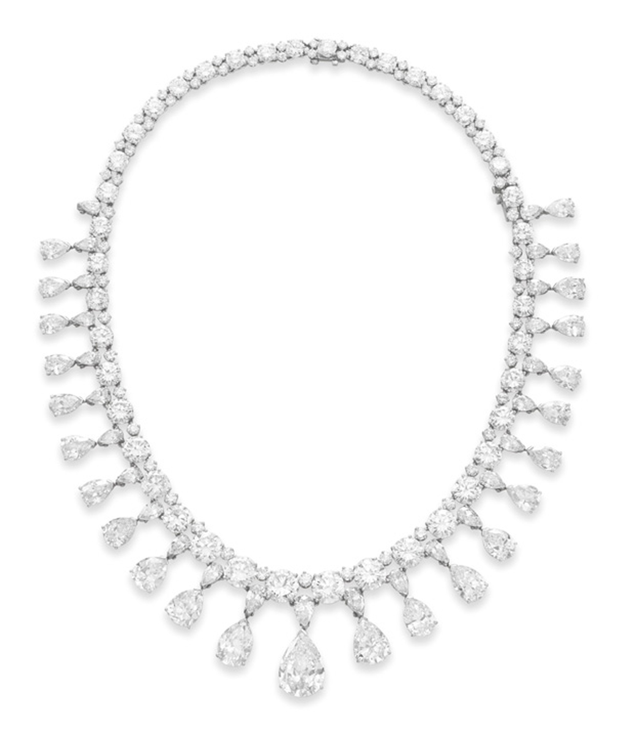 The Vanderbilt diamond necklace with an estimate of $400,000-$600,000