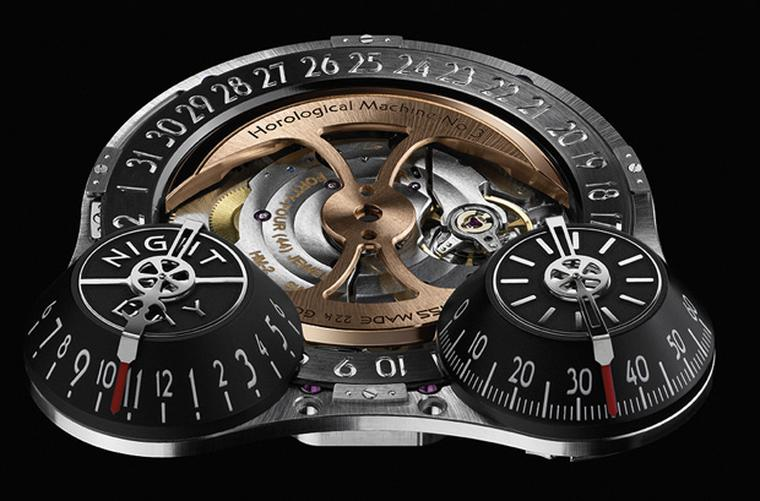 MB&F HM3 dial which is the base of the JWLRYMACHINE