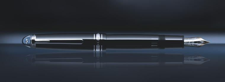 Montblanc Meisterstück Diamond pen in black resin