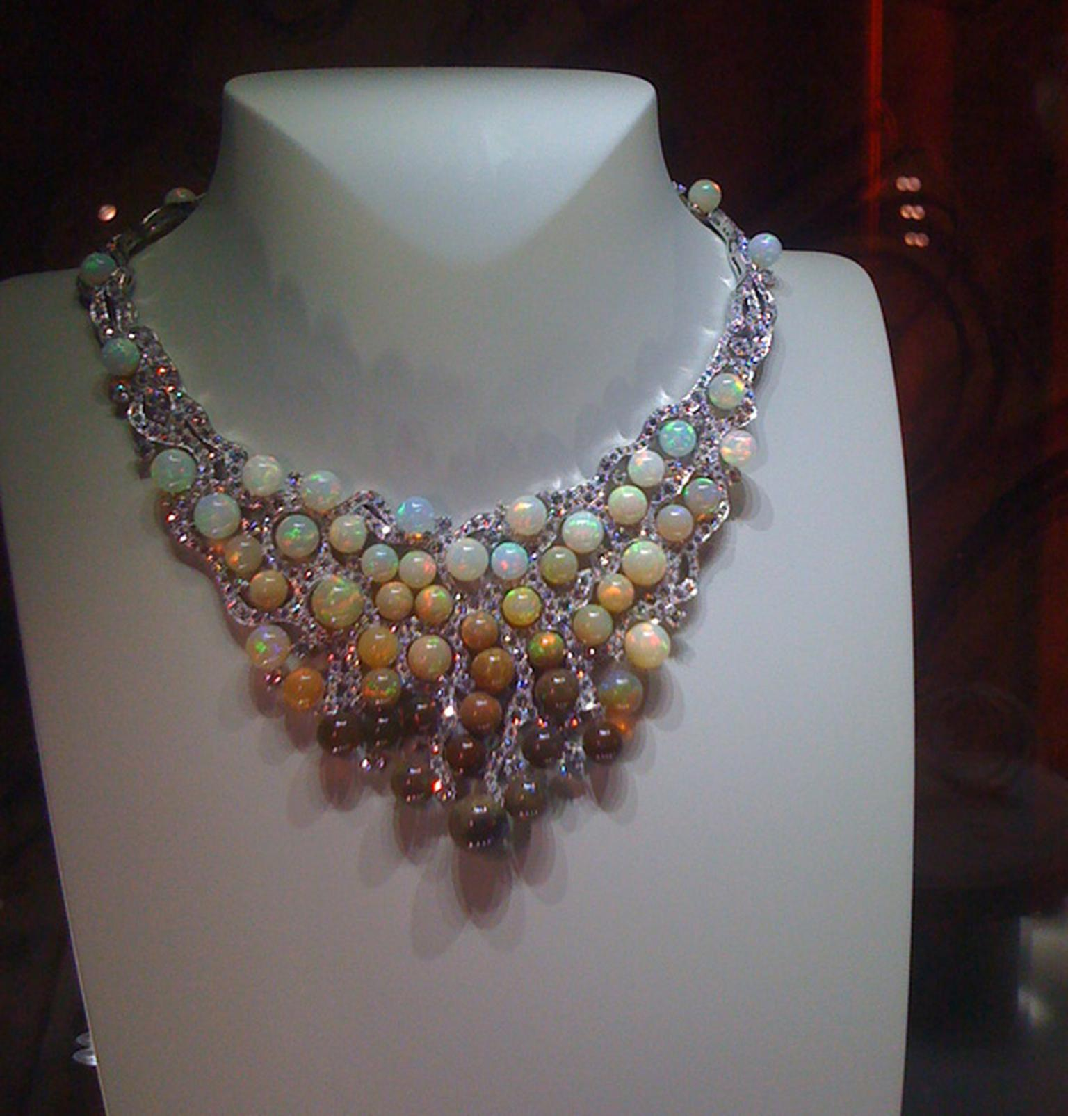 Van Cleef & Arpel's opal bead necklace - perhaps the most memorable piece of the Biennale