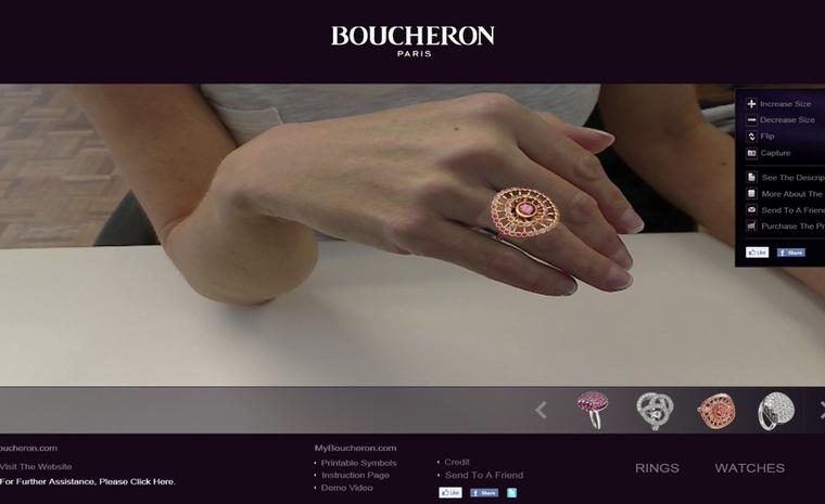 Boucheron's new virtual reality website