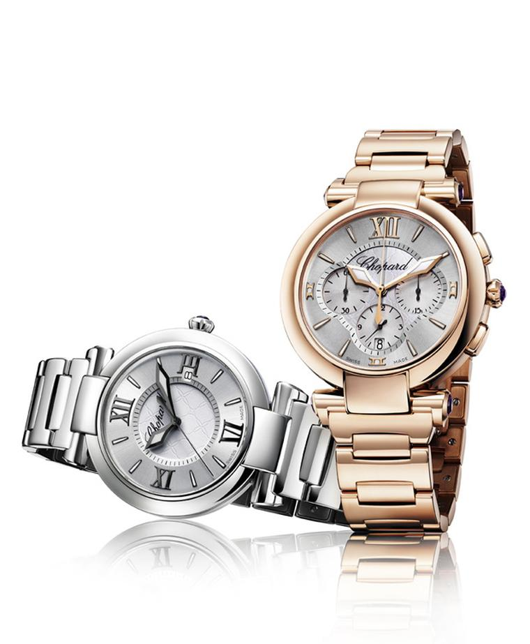 Chopard Imperiale in stainless steel and rose gold automatic chronograph