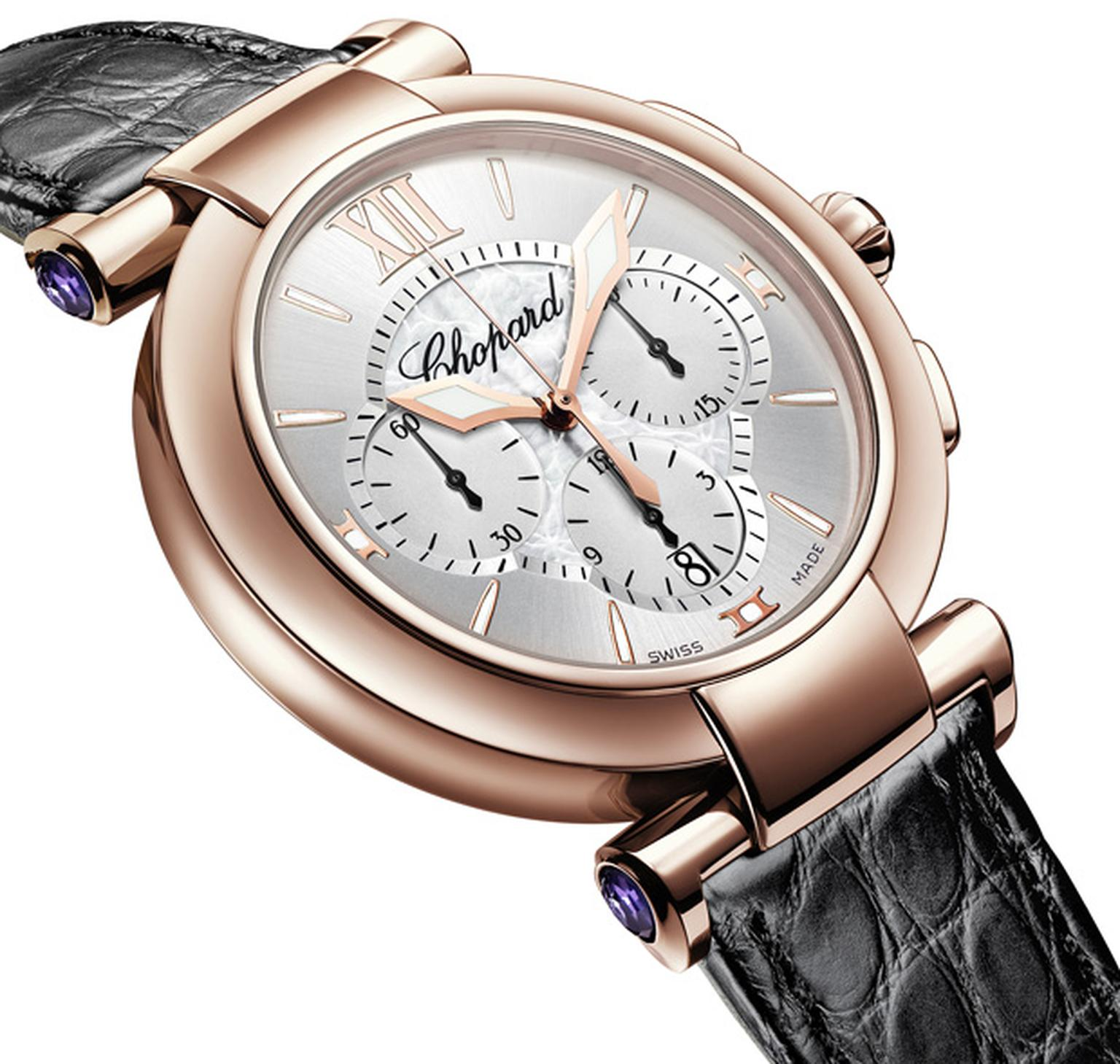 Chopard Imperiale Rose gold automatic chronograph