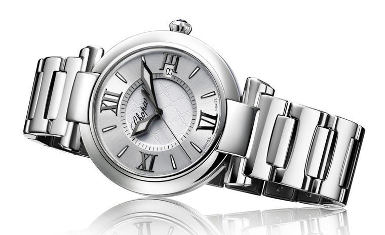 Chopard Imperiale watch in stainless steel