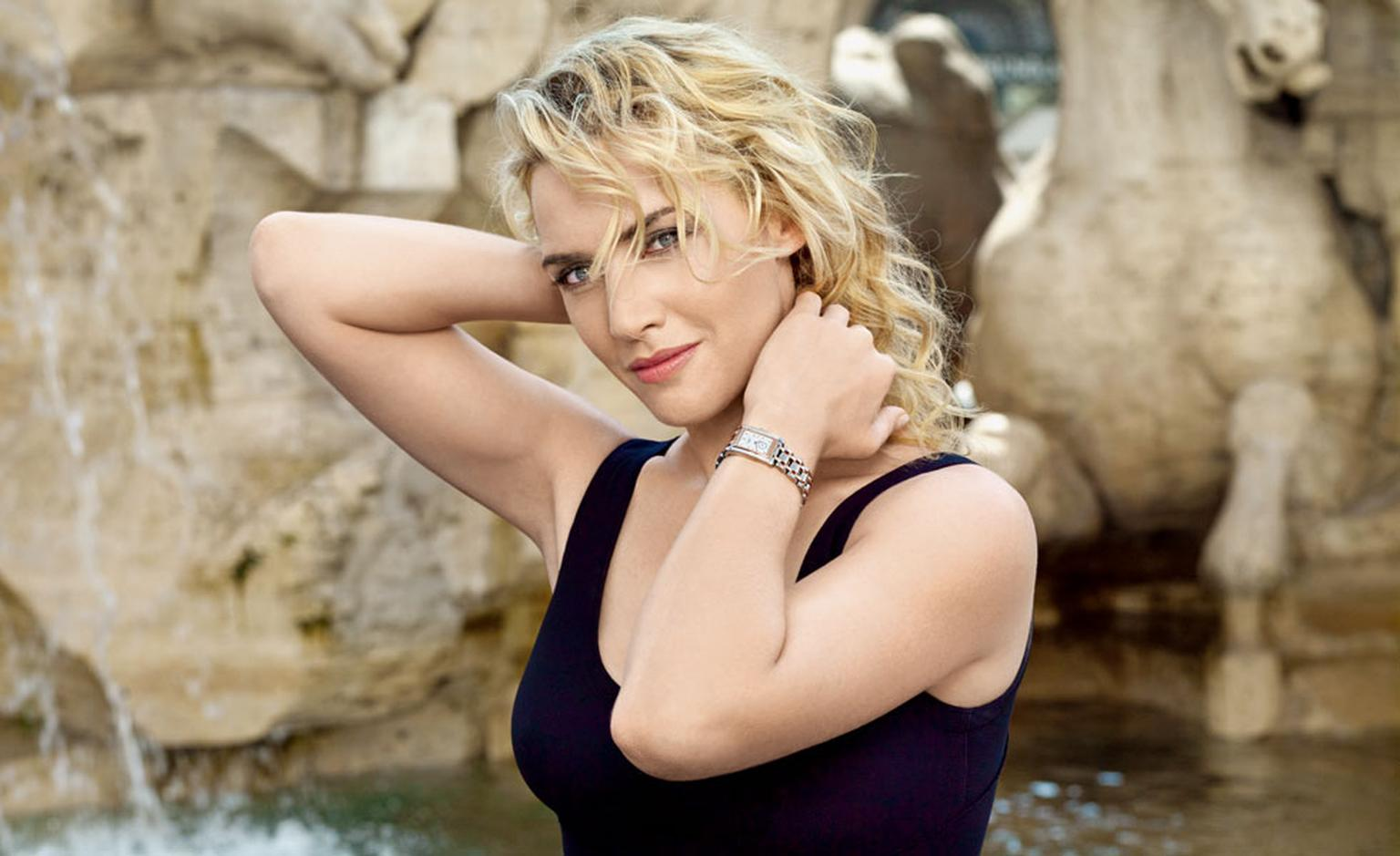 Kate Winslet enjoys La Dolce Vita in Rome