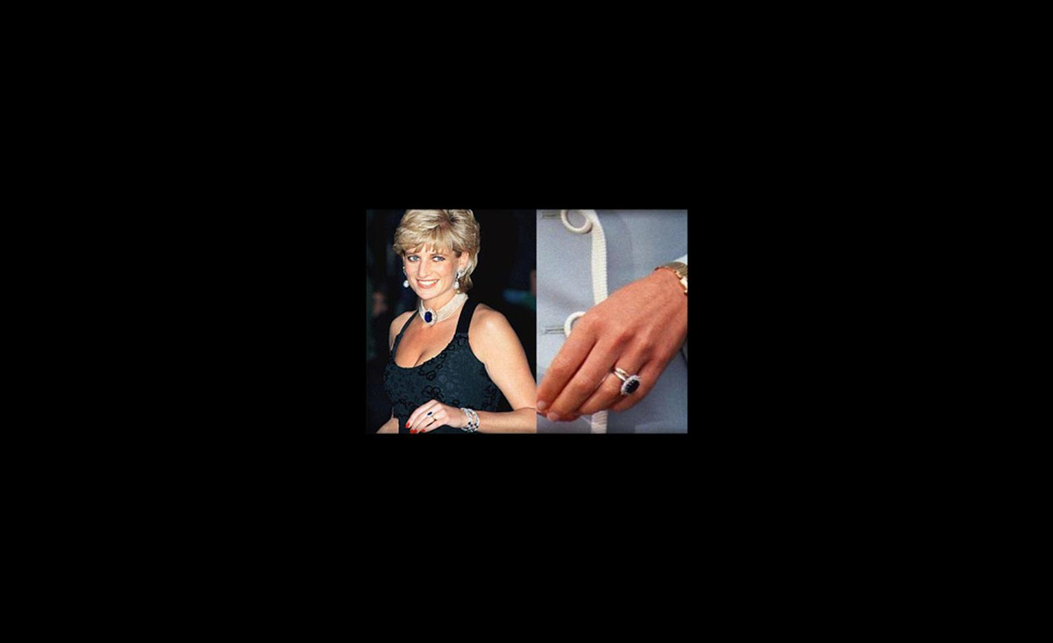 Princess Diana's engagement ring is now Kate's
