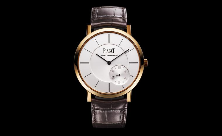 Piaget Altiplano in pink gold, slender and elegant in every detail