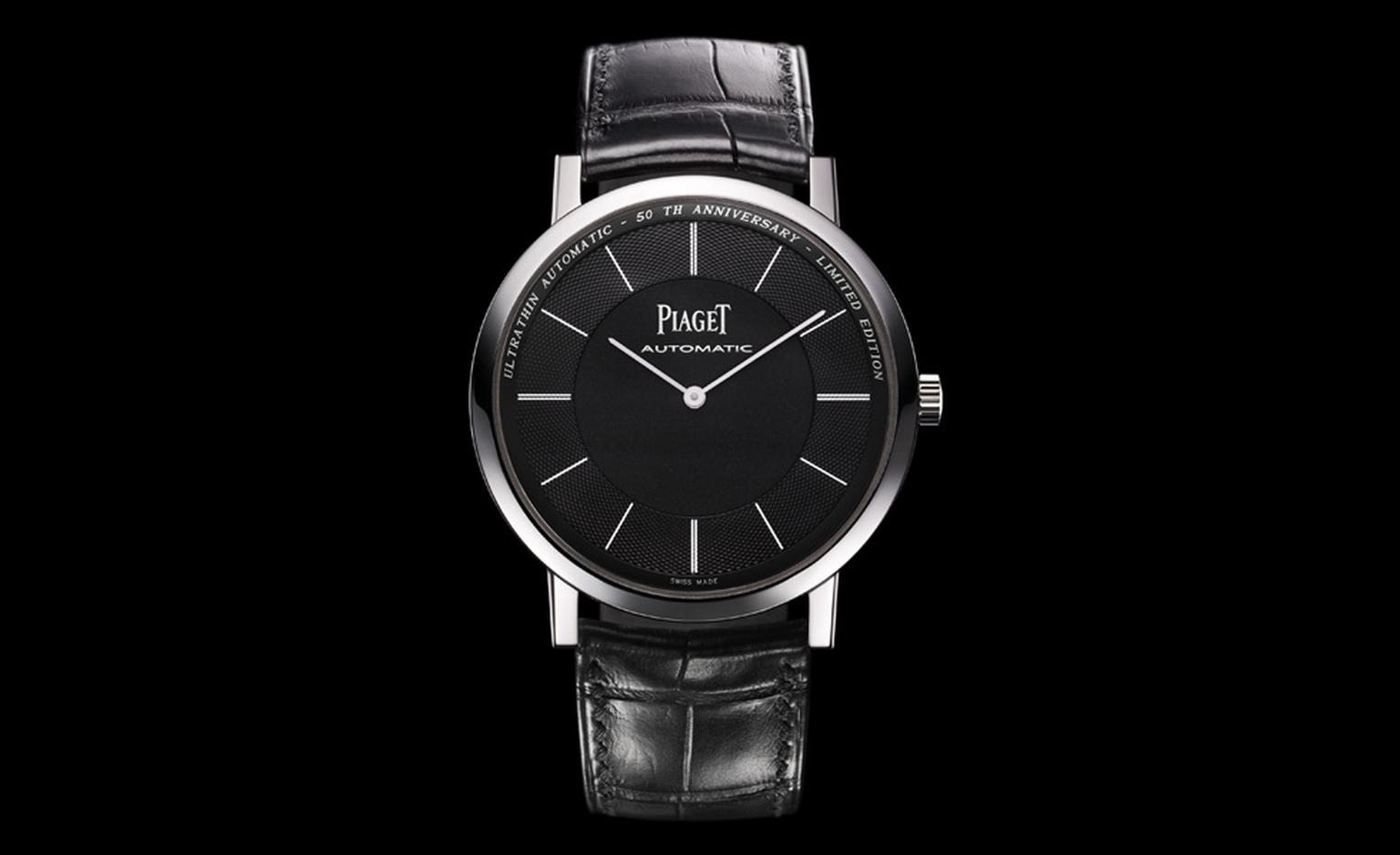 Piaget Altiplano anniversary limited edition in white gold