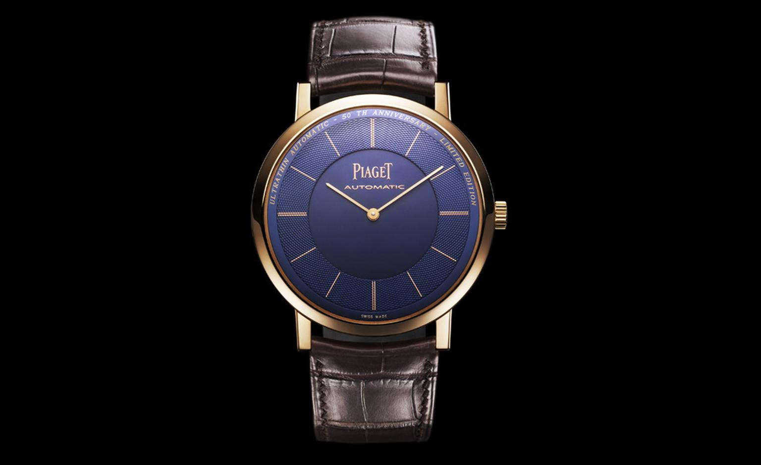 Piaget Altiplano anniversary limited edition in pink gold