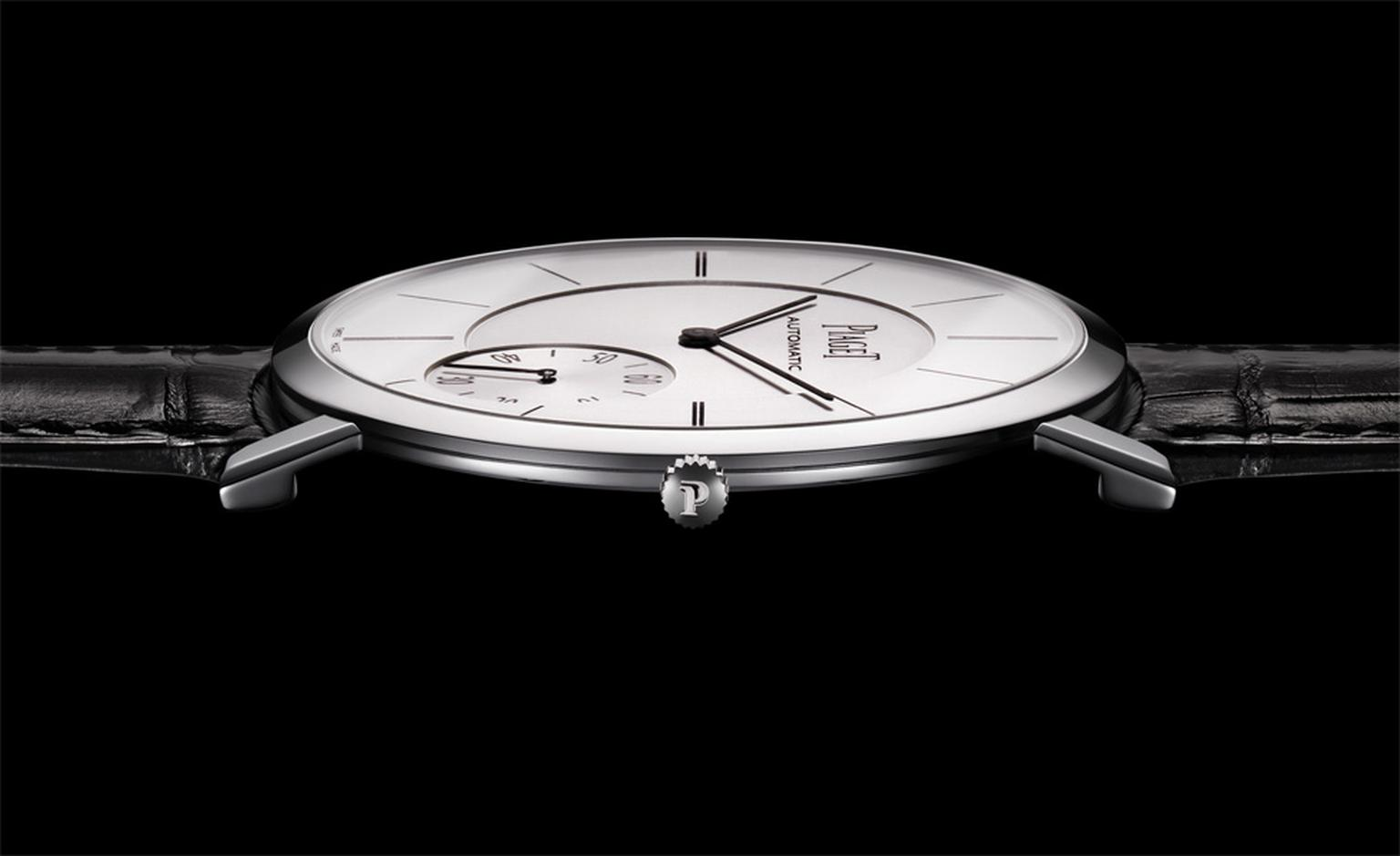 Wafer-thin, the Piaget Altiplano is but 5.25mm high