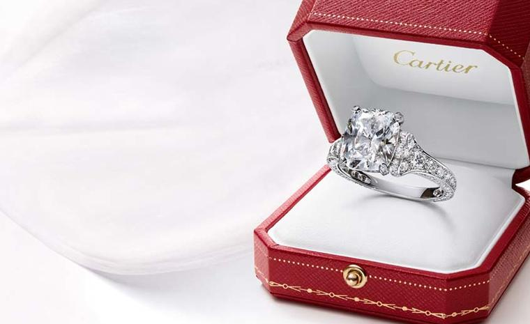 Engagement rings: Timeless diamonds