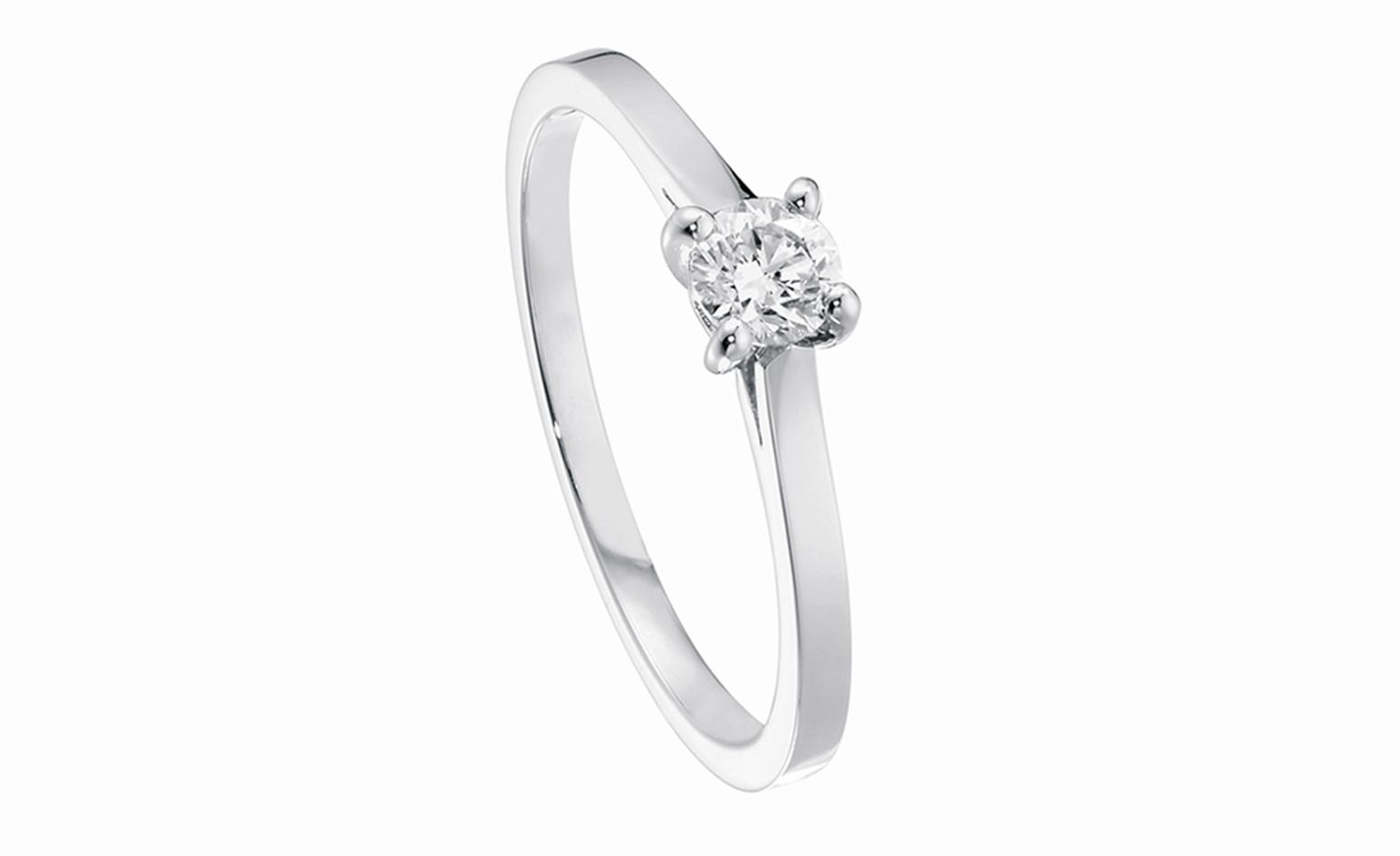 Piaget solitaire engagement ring from £3,060