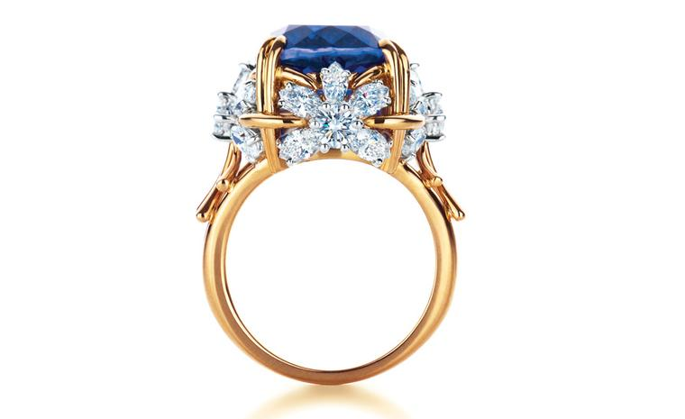 Tiffany & Co Schlumberger Flower ring with tanzanite and diamonds £44,000