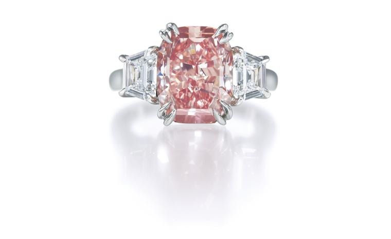 Harry Winston Pink Diamond Ring POA