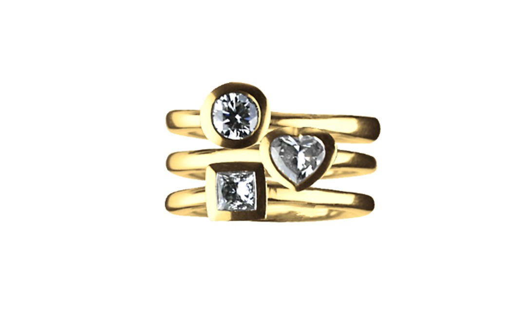 Wright & Teague, Trilogy rings from approx £8,500