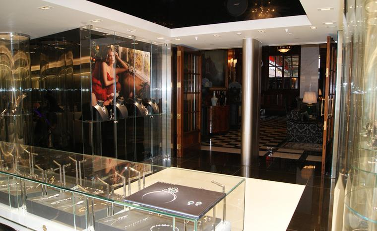The new Boodles shop in the Savoy Hotel