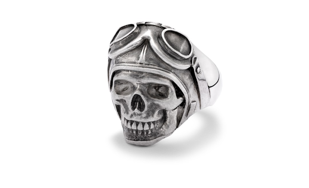 Skull with eye mask 'Yorick' from £295