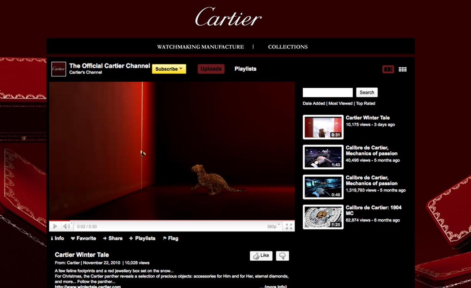Cartier's Winter Tale